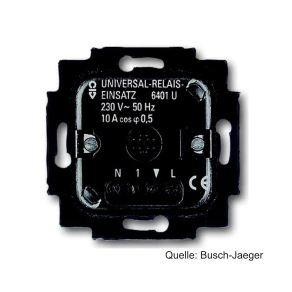 Busch-Jaeger Universal-Relais-Einsatz, 6401 U-102