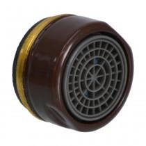 Neoperl Strahlregler CASCADE 24x1 AG, mocca