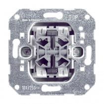 Gira Wipptaster-Einsatz 10A, 250V, 4fach, 014700