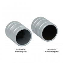 Entgrater / Anfaswerkzeug mit Alugehäuse für Metall+Kunststoffrohre NW 8 -35 mm
