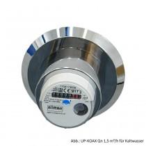 Allmess Unterputzwasserzähler UP-KOAX Qn 1,5 m³/h für Kaltwasser, 0431112206