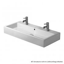 Duravit Vero Waschtisch 1000 x 470 mm inkl. Befestig., weiss, 0454100026
