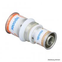 Uponor S-Press PLUS MLC Kupplung reduziert 25 x 16mm