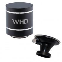 WHD SoundWaver Bluetooth Lautsprecher + WHD SF-100 Saugfuß, schwarz