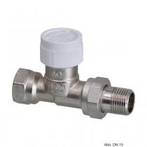 "Oventrop Thermostatventil ""Baureihe AV 9"" DN15, R 1/2"", PN10, Durchgang, 1183804"