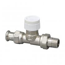 """Oventrop Thermostatventil """"Baureihe AV 9"""" DN15, Pressanschluss 15mm, Durchgang"""