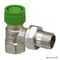 "Oventrop Thermostatventil ""Baureihe AZV"" DN 20, 3/4"", PN 16, Eck, 1187506"