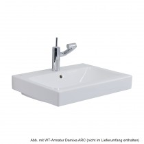 Geberit/Keramag Waschtisch iCon 75 x 48,5 cm, weiß, 124075000