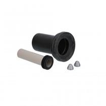 Geberit Wand-WC-Anschlussgarnitur PE d:90mm Länge: 185mm