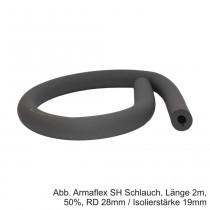 Armaflex SH Schlauch,selbstklebend, Länge 2m, 100%, RD 15mm / Isolierstärke 27mm