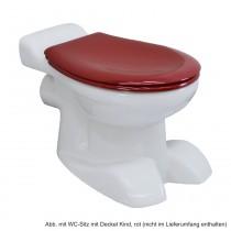 Geberit Stand-Tiefspül-WC Kind, Abgang waagerecht, weiß, 212000000
