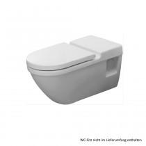 Duravit Starck 3 Wand-Tiefspül-WC Vital, barrierefrei, 700 mm, weiss, 2203090000