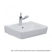 Geberit Waschtisch Renova Nr.1 Plan 65x48cm, weiß KeraTect, 222265600