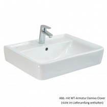 Geberit/Keramag Aufsatzwaschtisch Renova Nr. 1 Plan 60 x 48 cm, weiß, 225160000