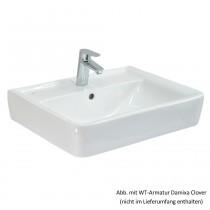 Geberit Aufsatzwaschtisch Renova Nr. 1 Plan 65 x 48 cm, weiß, 225165000