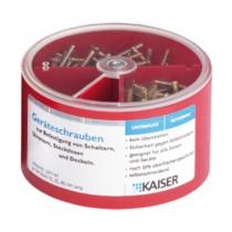 Kaiser Geräteschrauben-Box mit 300 Schrauben, 247191