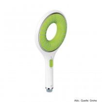 GROHE Rainshower Icon Handbrause mit 1 Strahlart Rain, moon white/ eco green