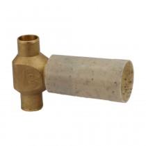 """GROHE UP-Ventil-Unterteil 1/2"""" Lötanschluss 15 mm, 29801000"""