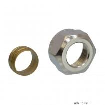 HEIMEIER Klemmverschraubung für Präzisionsstahlrohr 15mm. AG M 24x1,5, 380015351
