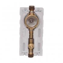 """Allmess UP-fix Plus Uno Wasserzähler-Modul 3/4"""" IG für 1 Wasserzähler"""