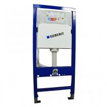 Geberit DuofixBasic Wand-WC-Modul mit Delta UP-Spülkasten 12 cm, Höhe 112 cm