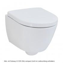 Villeroy & Boch Subway 2.0 Wand-Tiefspül-WC compact, weiß Ceramicplus, 560610R1