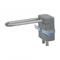 Viega Heizkörperanschlussblock 15 mm, Modell 1097.9 mit Dämmbox, H. 150 mm mm