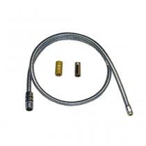 Hansa Metallschlauch 1200 mm, M20x1,5xM14x1 für WT-Armat. Hansaronda, 59906726