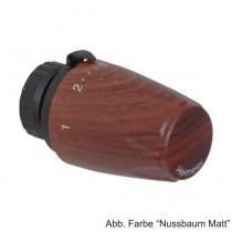 HEIMEIER Thermostat-Kopf DX Art-line Nussbaum Matt,  670016900