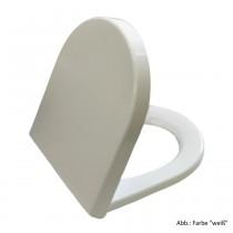 Pagette S3 WC-Sitz mit Steckbefestigung von oben, abnehmbar, weiß, 795680102