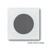 Busch-Jaeger Zentralscheibe für Lautsprecher-Einsatz, davos/studioweiß 8253-84