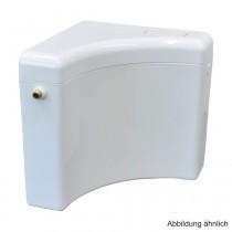 Eckspülkasten 6-9 Liter, alpin-weiß