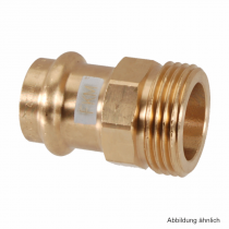 "Viega Profipress-S Übergangsstück Rotguss AG, Serie 4511, 12 mm - 3/8"""