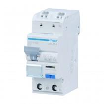 Hager FI-LS - Schalter ADS910D, 1P+N 6kA B-10A 30mA Typ A QC, ADS910D