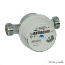 """Allmess AP-Wasserzähler. EVK 5/130-V TU6 +m,(kalt bis 30°C),Gehäuse 1""""AG"""