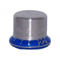 Mapress Edelstahl Kappe, 15 mm