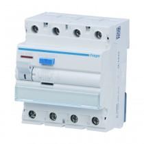 Hager FI-Schalter CDA425D, 4polig 6kA 25A 30mA Typ A, CDA425D