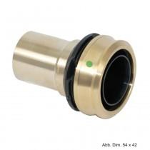 Viega Raxofix Einsteckstück für alle metall. Viega Systeme, Mod. 5313, 20 x 22mm