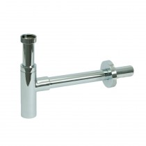 """Design Flaschengeruchsverschluss 1 1/4"""" x 32 mm, verchromt"""