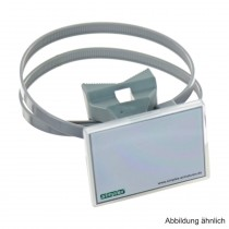 Simplex Quick-Schilderhalter 70 x 50,8 mm mit Schnellspannband
