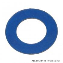 Flanschdichtung für PN 6, DN 20 - 28 x 53 x 2 mm