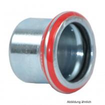 Geberit Mapress C-Stahl Kappe, 28 mm