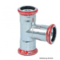 Geberit Mapress C-Stahl T-Stück, 35-15-35 mm