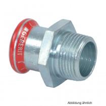"Geberit Mapress C-Stahl Übergangsstück AG, 22mm x 1/2"""