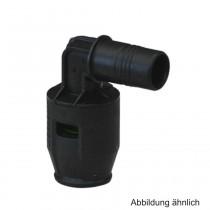 Geberit PushFit Winkel 20mm, 90° mit Steckende, PVDF