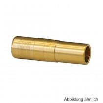 Geberit PushFit Übergang auf Mapress 16 x 15mm, mit Einschub- und Steckende, Rotguss