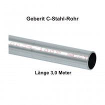 Geberit Mapress C-Stahl Rohr, außen verzinkt, 3,0 m Stange, 15 x 1,2 mm