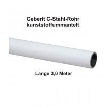 Geberit Mapress C-Stahl Rohr, kunststoffummantelt, 3,0 m Stange, 15 x 1,2 mm