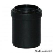 Geberit Silent-PP Reduktion zentrisch, kurz, mit 1 Muffe, DN 50-40