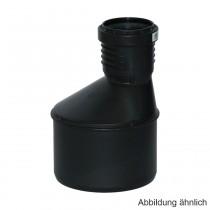 Geberit Silent-PP Reduktion exzentrisch mit 1 Muffe, DN 50-40